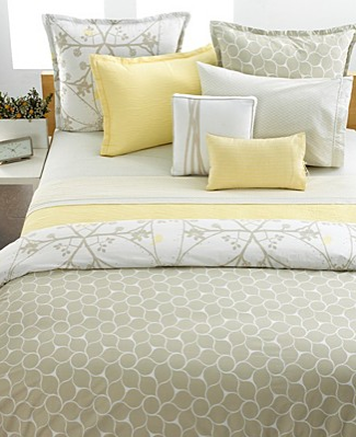Steal of the Day: Style & Co. Lotus Blossom Bedding - Yellow Bed Sets