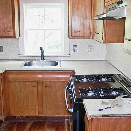 Remodeled Galley Kitchens