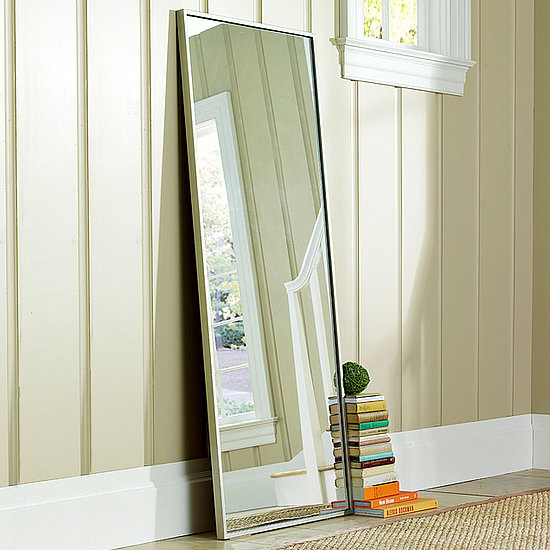 Room therapy a full length mirror that won 39 t break the for Miroir argent ikea
