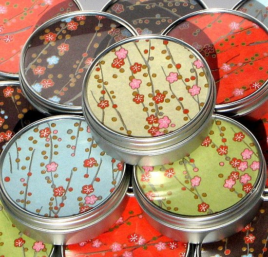 Bloembox tiny tins are uniquely memorable party favors for garden ...