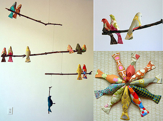 DIY:  Handsewn Bird Mobile |   CasaSugar - Home & Garden.