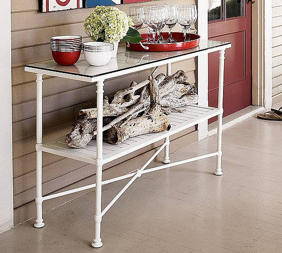 Barkley Console Table: Steal Of The Day: Pottery Barn Potrero White Console Table