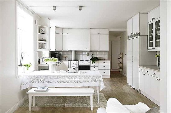 Love It Or Hate It An All White Kitchen POPSUGAR Home