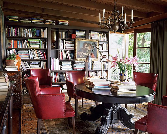 Library Carpets Persian Rugs Make Your Home Library A Comfortable