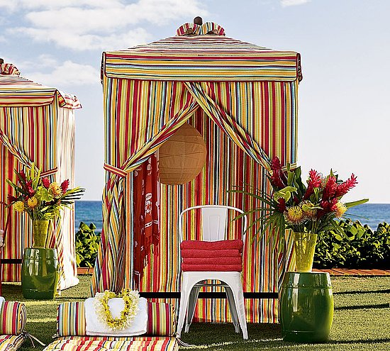 Steal of the Day: Pottery Barn Chesapeake Changing Cabana | CasaSugar - Home & Garden.