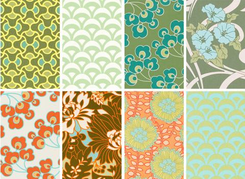 modern home decor fabric prints - Home Decor Fabric