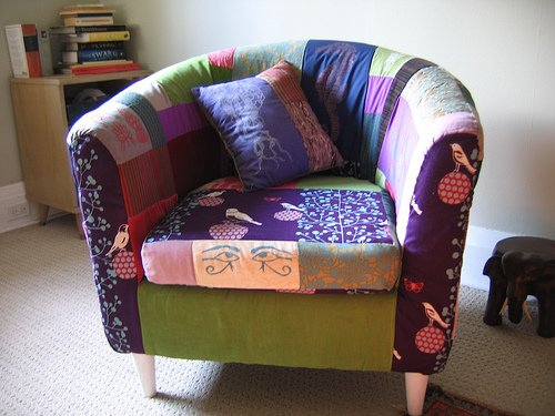 2794372846 4e16a4345d Patchwork Sofa Inspiration