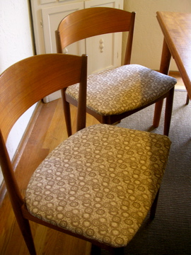 DIY: Re-Cover a Dining Room Chair