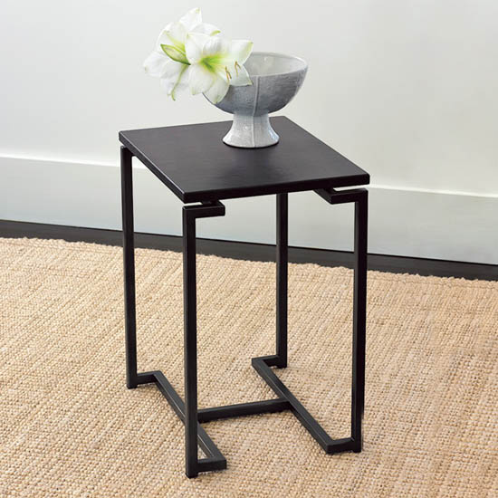 Steal Of The Day West Elm Faux Shagreen Side Table