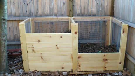 easy compost bin plans