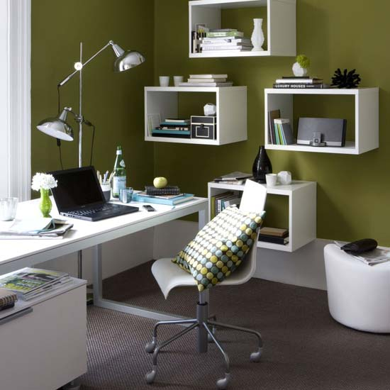 Ask Casa: A Modern, Non-White Office Color?
