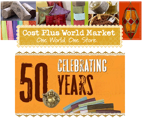 Cost Plus World Market: This Just In: Cost Plus World Market Celebrates 50 Years
