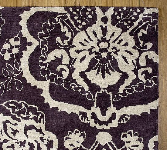 Purple Rug Australia: Steal Of The Day: Pottery Barn Cameron Floral Rug