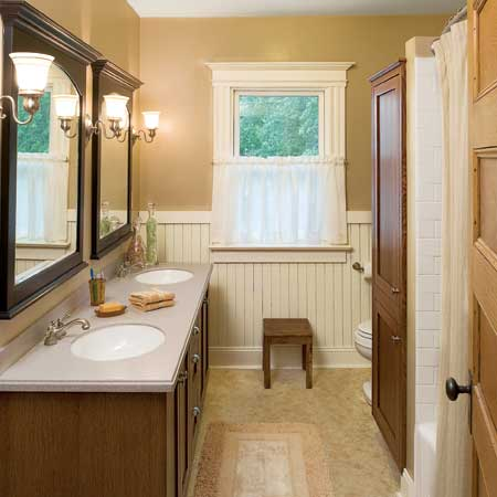 Before And After A Better Bathroom Popsugar Home