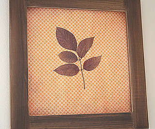 pressed leaf art