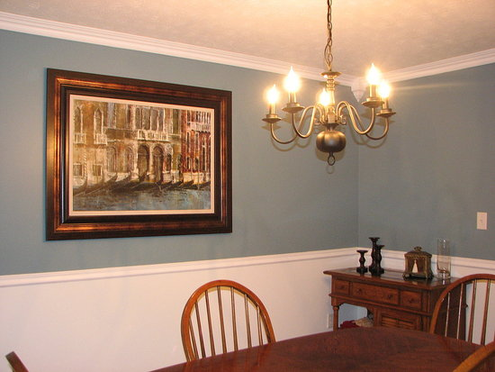 Before and After: Tweet Hotpants' Dining Room