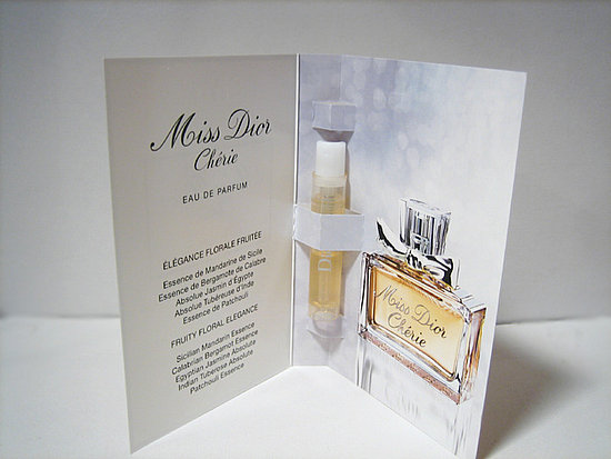 Miss Dior Cherie carded sample