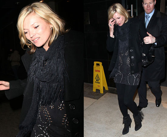 kate moss topshop dress. For accessories, Moss adorned