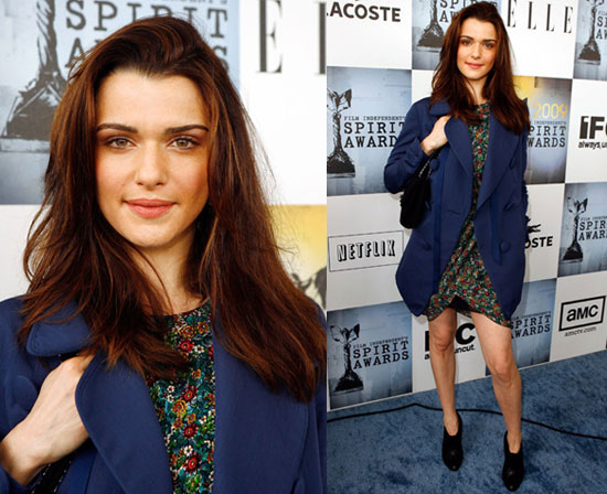 rachel weisz 2009. Rachel Weisz opted for casual