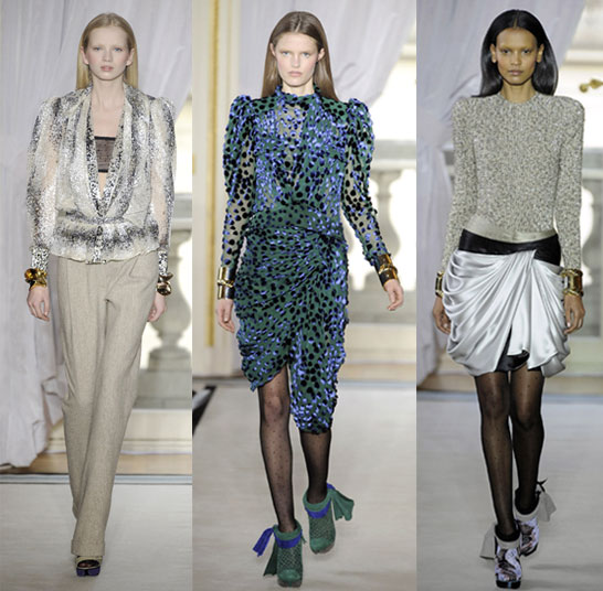 2009 Fall Paris Fashion Week: Balenciaga | Balenciaga, Nicolas Ghesquière, Shoulder Love | FabSugar - Fashion, Shopping & Style :  shopping nicolas trend 2009