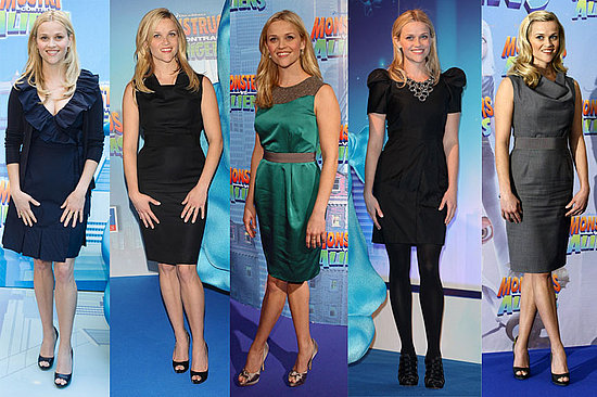 All of her choices are very Reese — ladylike, chic — but which look is most