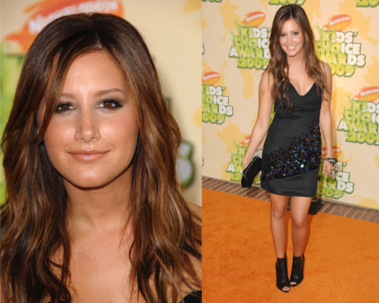 Ashley Tisdale showed off her sassy side at the Kids' Choice Awards in a ...