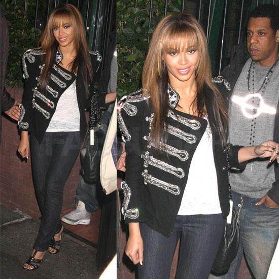 Beyonce ve Military Ceket Modas�