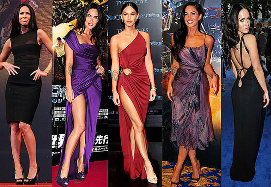 Megan Fox Daughtry various countries, I've been following her daring red
