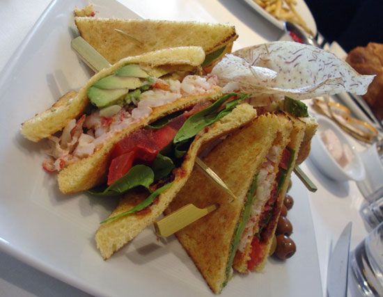 Recipe For Lobster Club Sandwich Inspired by Neiman Marcus | POPSUGAR ...