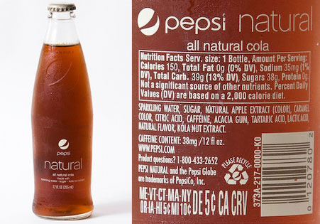 Define Natural When Used On A Food Label