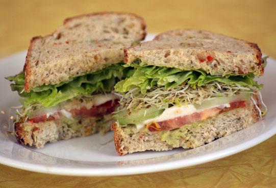 Recipe For Vegetarian Mexican Sandwich   POPSUGAR Food