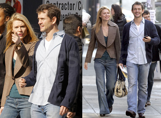Photos Of Newly Engaged Hugh Dancy And Claire Danes Out