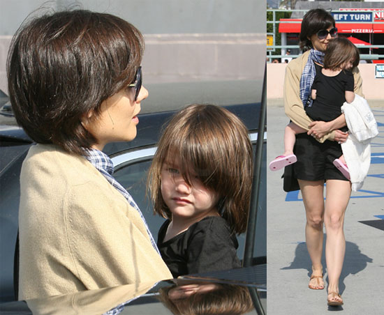 katie holmes short hair 2009. Photos of Katie Holmes With