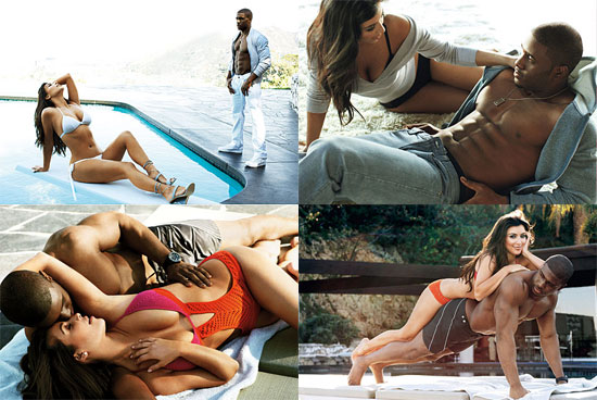 reggie bush shirtless pictures. Kim Kardashian and Reggie Bush