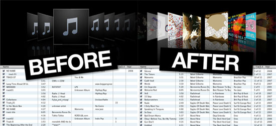 how to delete itunes library music that you cant find