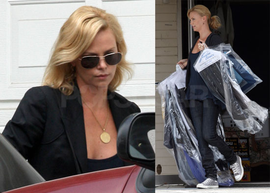 Photos of Charlize Theron and Stuart Townsend Together in ...