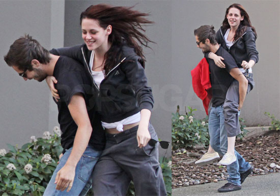 Kristen Stewart Michael Angarano Robert Pattinson. Rob was out of town for