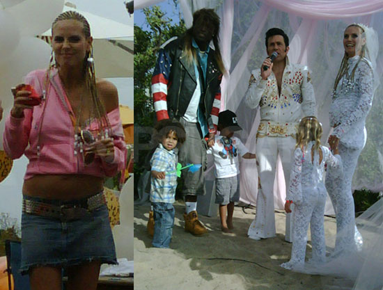 Inside Photos From Heidi Klum And Seal S Trailer Trash Wedding