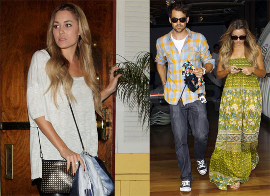 lauren conrad and kyle howard kissing. Lauren talked about the