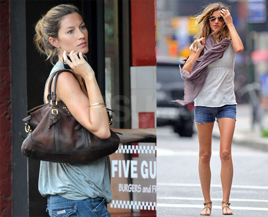 Photos of Gisele Bundchen Out and About in NYC With ...