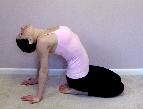 how to learn to do a backbend