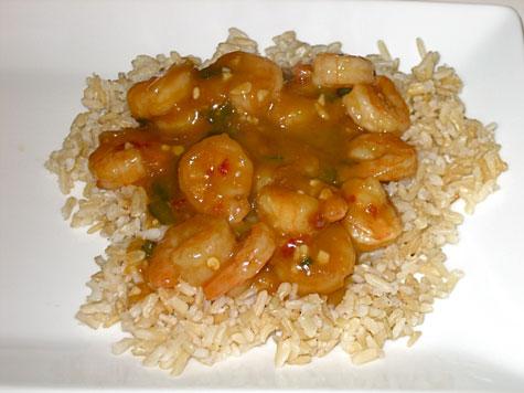 ... Recipe: Stir-Fried Shrimp With Spicy Orange Sauce | POPSUGAR Fitness