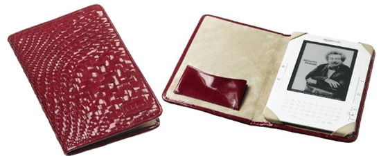 Red Patent Leather Cole Haan Case For Kindle 2 Costs $120