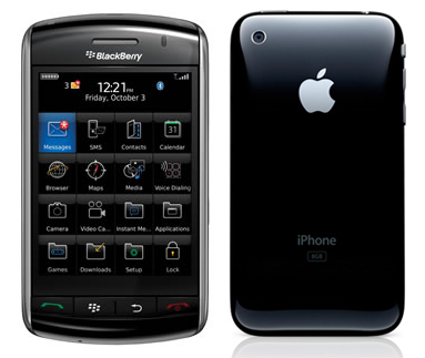 BlackBerry Storm 2 and Third Generation iPhone Both ...