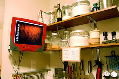 Dream Cooking Scenario A Computer In The Kitchen