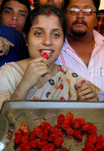 Woman Breaks World Record For Eating World 39 S Hottest