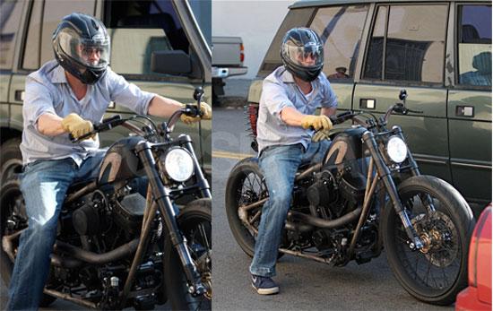 Brad Pitt Motorcycle Helmet