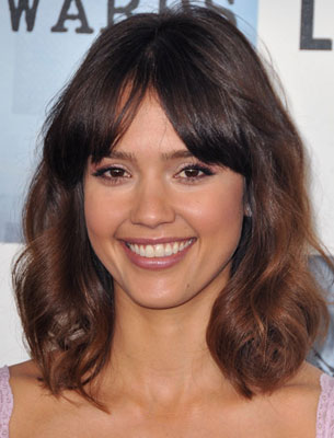 brown hair color, Jessica Alba brown Jessica Alba