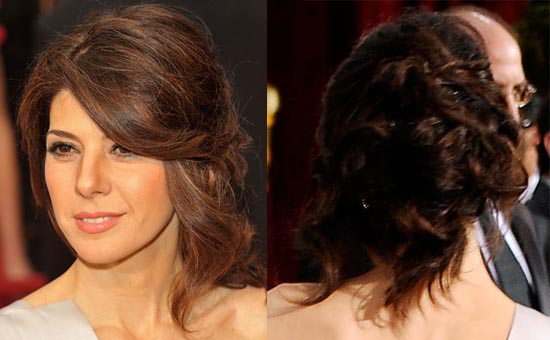 create this soft and cascading hairstyle. For step-by-step instructions