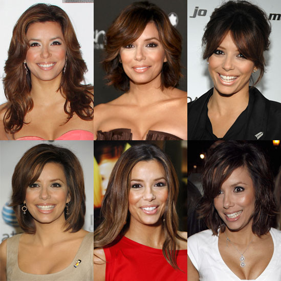 Which of Eva Longoria's length-changing styles is your favorite?